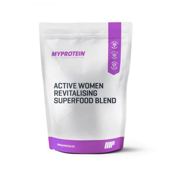 """Active Women"" atgaivinantis supermaisto mišinys"