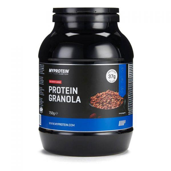 Baltyminė Granola