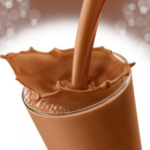 Šokoladinis Pieno Kokteilis