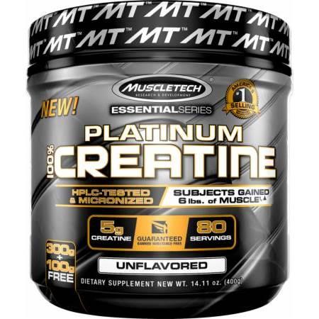 Mikronizuotas Kreatinas Platinum 100% Creatine